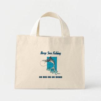 深海の魚釣りのバッグ ミニトートバッグ
