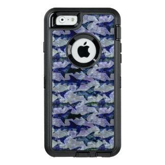 深海の鮫 オッターボックスディフェンダーiPhoneケース