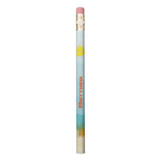 深海の黄色の潜水艦 鉛筆