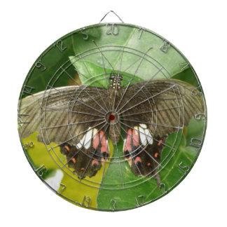 深紅のアゲハチョウの蝶投げ矢板 ダーツボード