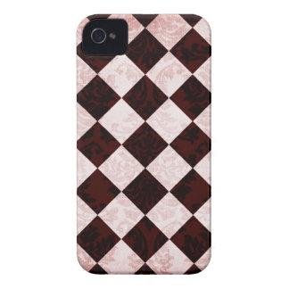 深紅のピンクのダイヤモンドのおもしろいのスタイリッシュなiphone 4ケース Case-Mate iPhone 4 ケース