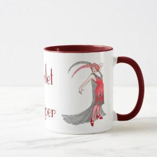 深紅のフラッパー マグカップ