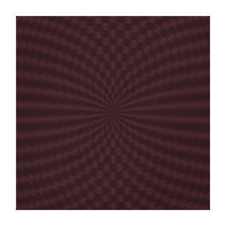 深紅の幾何学的な円のキャンバスのプリント キャンバスプリント