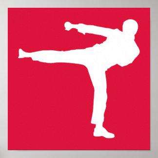 深紅の武道 ポスター