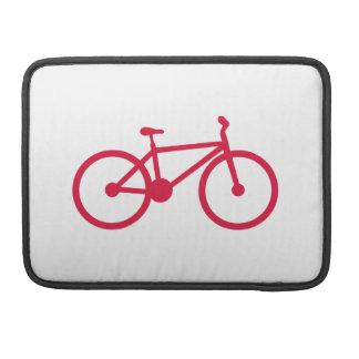 深紅の自転車 MacBook PROスリーブ