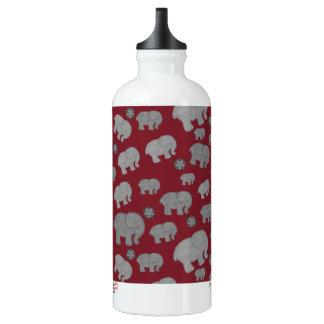 深紅の象パターン水差し SIGG トラベラー 0.6L ウォーターボトル