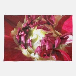 深紅の開花 キッチンタオル