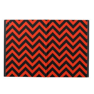 深紅色のシェブロン2 POWIS iPad AIR 2 ケース