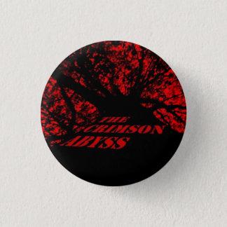 深紅色の地獄のバッジ 3.2CM 丸型バッジ