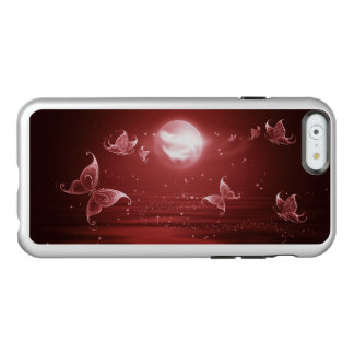 深紅色の月光の蝶 INCIPIO FEATHER SHINE iPhone 6ケース