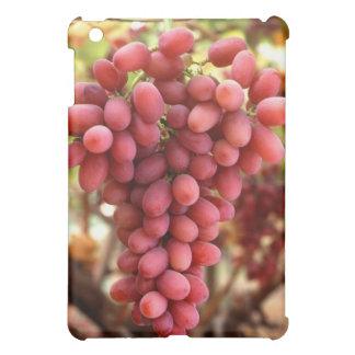 深紅色の種なしブドウ iPad MINIケース