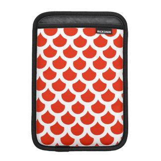 深紅色の魚スケール2 iPad MINIスリーブ