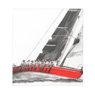 深紅Oyster.jpeg ノートパッド