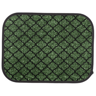 深緑色のグリッターのモトッコ人 カーマット