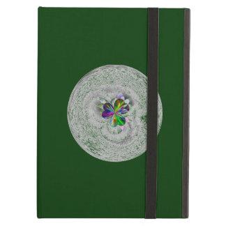 深緑色のデザイン iPad AIRケース