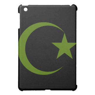深緑色の三日月及びStar.png iPad Miniカバー