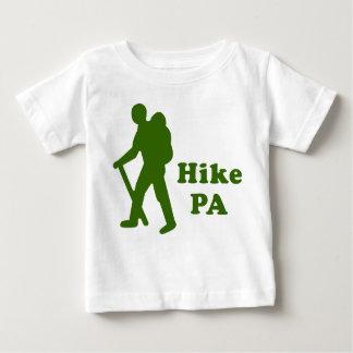深緑色ハイキングPAの人 ベビーTシャツ