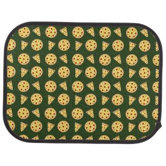 深緑色ピザパターン カーマット