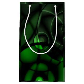深緑色 スモールペーパーバッグ
