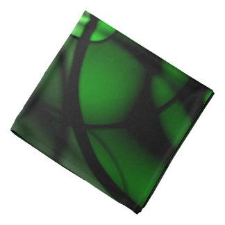 深緑色 バンダナ