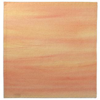 混ぜられた黄橙色のブレンドの布のナプキン ナプキンクロス