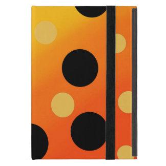 混ぜられたOrangeToYellowのカスタマイズ可能な点 iPad Mini ケース