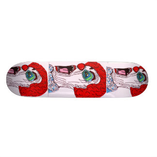 混乱したピエロのスケートボード スケボーデッキ