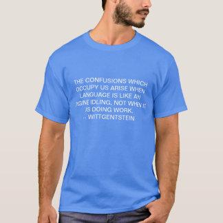 混乱 Tシャツ