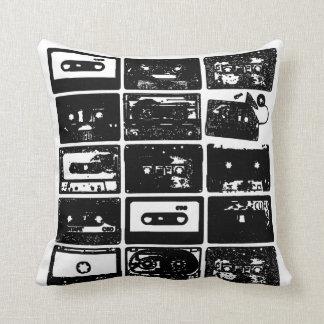 混合されたカセットテープ クッション