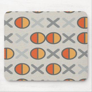 混合されたコードは幾何学的なパターンカスタム色をひもでつなぎます マウスパッド