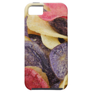 混合されたポテトチップのクローズアップのボール iPhone SE/5/5s ケース