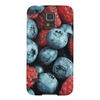 混合された果実の(ブルーベリーおよびラズベリー)デザイン GALAXY S5 ケース