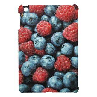 混合された果実の(ブルーベリーおよびラズベリー)デザイン iPad MINI CASE