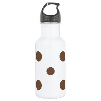 混合された水玉模様-白のコーヒー ウォーターボトル