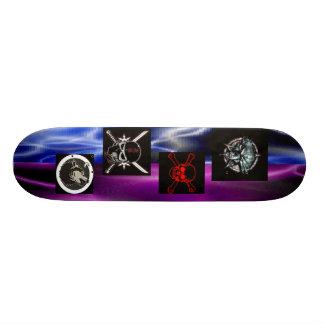 混合された稲妻、異常なオオカミ、SkullRedの忍者s… オリジナルスケートボード