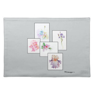 混合された花束の布のランチョンマット ランチョンマット