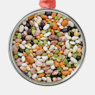 混合された豆 メタルオーナメント