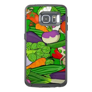 混合された野菜 オッターボックスSamsung GALAXY S6 EDGEケース