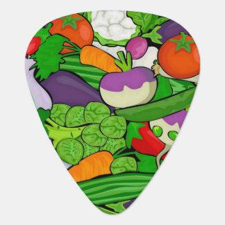 混合された野菜 ギターピック