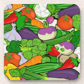 混合された野菜 コースター