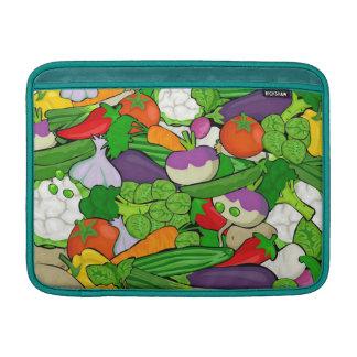 混合された野菜、孔雀 MacBook スリーブ