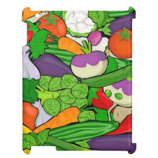 混合された野菜 iPadケース