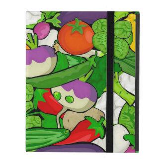 混合された野菜 iPad ケース