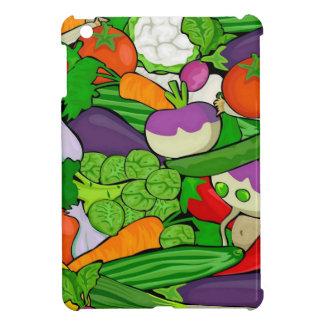 混合された野菜 iPad MINIケース