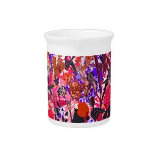 混合されるかわいく多彩なgirleyのヴィンテージの花 ピッチャー