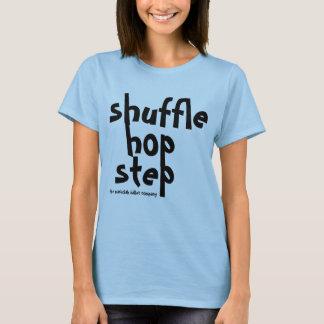 混合のホツプのステップタッパーのワイシャツ Tシャツ