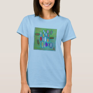 混合メディアの自閉症の認識度 Tシャツ