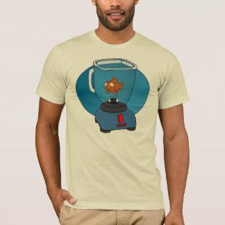 混合機の悲しい金魚 Tシャツ