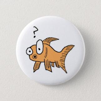 混同した金魚 5.7CM 丸型バッジ