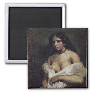 混血児の女性、c.1821-24 マグネット